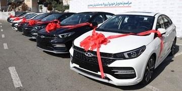 مراسم تحویل خودروهای آریزو6 مدیران خودرو به مشتریان