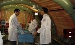 شهید وحدت سنگ بنای بیمارستان صحرایی را استوار کرد/ نهال خدمت در حال باروری است