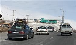 ترافیک سنگین در آزادراه کرج-تهران/ اعمال محدودیت ترافیکی در محور هراز