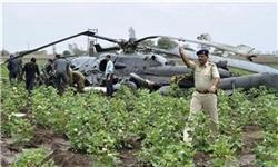 برخورد دو بالگرد در هند ۹ کشته بر جای گذاشت + تصاویر