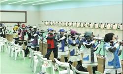 اعزام تیم تیراندازی بانوان بسیجی به مسابقات کشوری