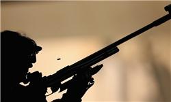 برگزاری مسابقات تیراندازی با تفنگ بادی خواهران بسیجی