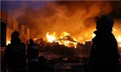 کارگاه گلدوزی در آتش سوخت