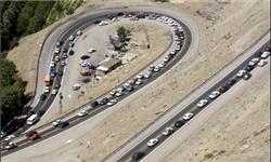 افزایش 3.8 درصدی تردد خودرو در جادهها/ آزادراه کرج-تهران پرترافیکترین