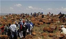 تظاهرات ۲ هزار معدنچی در آفریقای جنوبی