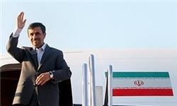 احمدی نژاد ویتنام را به مقصد تهران ترک کرد