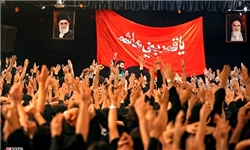 برپایی مراسم عزاداری حسینی در دانشگاه آزاد آبادان