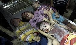 امروز رقیه را دارند از زیر آوارهای غزه بیرون میکشند