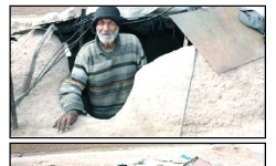 پیرمردی که 15 سال است در گودال زندگی میکند