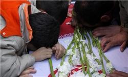 مردم سمنان برای شهید شاطری مرثیهسرایی و قرآنخوانی کردند
