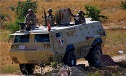 کشته شدن ۱۸ تروریست در عملیات ارتش مصر در سینا