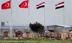بازدید فرمانده نیروی زمینی ترکیه از مرزهای مشترک با سوریه
