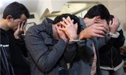 دستبند پلیس خرمشهر بر دستان 4 سارق حرفهای