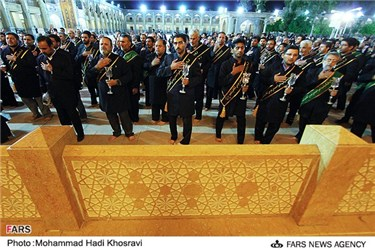 مراسم سالروز شهادت حضرت احمد ابن موسی شاهچراغ(ع) در شیراز