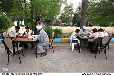 مسابقه و تفریح در اردوی طرح ولایت در اردوگاه شهید دستغیب استان فارس