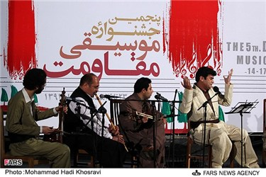 پنجمین جشنواره موسیقی مقاومت در شیراز