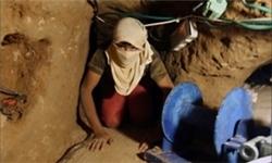 ارتش مصر ۳ تونل دیگر در مرز رفح را تخریب کرد