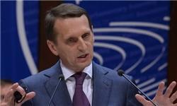 ناریشکین: انگلیس بالاخره تصمیم گرفت از مواضع روسیه در قبال سوریه حمایت کند