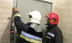 تعمیرکار آسانسور در میانه از مرگ حتمی نجات یافت