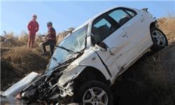 سانحه رانندگی برای خودروی معلمان ایلامی/ یکی از معلمان جان باخت