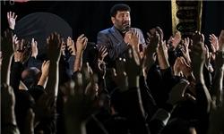 آئین عزاداری ایام محرم در حسینیه شهدای بسیج