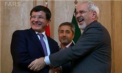 دیدار و نشست خبری مشترک وزرای خارجه ایران و ترکیه