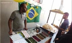 سرمربی فوتبالی که فلافل فروش شد!+تصاویر