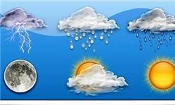 هوای مازندران نیمهابری همراه با بارش باران است