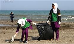 تالاب پیرسلمان در روز «زمین پاک» پاک شد