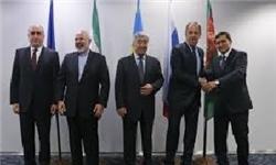 پایان نشست وزیران امورخارجه پنج کشور ساحلی دریای خزر