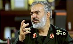 دفاع از انقلاب اسلامی به خاک دشمنان ایران کشیده شده است