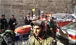 محاصره کامل مسجدالاقصی و منع ورود نمازگزاران به آن