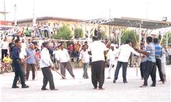 جشنواره بازیهای بومی و محلی در سیریک برگزار شد