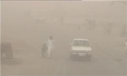 ورود پدیده گرد و غبار به نواحی مرزی کرمانشاه