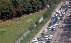 ترافیک نیمه سنگین در محور کرج - چالوس/ پایان دوره نخست سفرها