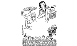 تحولات پاکستان در قاب کاریکاتور