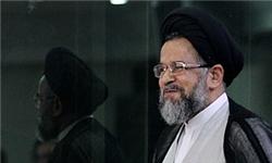 بازدید وزیر اطلاعات از کتابخانه ملی ایران