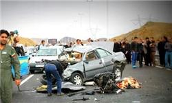 واژگونی پژو 405 و سمند یک کشته و 5 مصدوم بر جای گذاشت