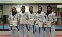 دختران بسیجی شیراز به مسابقات جهانی کاراته قبرس میروند