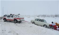 کاهش ترافیک خودرو و سهم تردد ناوگان سنگین در جادهها/ انسداد ۷ محور به دلیل شرایط نامساعد جوی