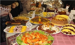 برپایی جشنواره غذاهای محلی در چغادک