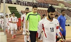 مخالفت مسئولان AFC با نصب نوار مشکی روی پیراهن تیم ملی امید