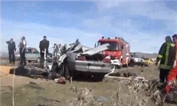15 کشته و زخمی طی واژگونی چند خودرو در جاده آذرشهر- عجبشیر