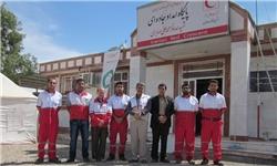 بازدید مدیرعامل هلال احمر خوزستان از اکیپها و پایگاه جادهای هندیجان