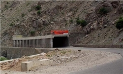 اجرای عملیات تعریض جاده روستای نی به مریوان
