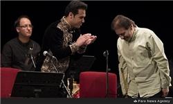فردوسی به روایت موسیقی ایرانی/ جمشید عندلیبی پس از سالها روی صحنه رفت