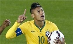 نیمار: عضو کوچکی از تیم ملی برزیل هستم
