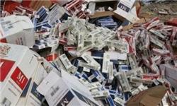 کشف 240 هزار نخ سیگار قاچاق در بناب