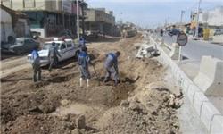 هزینه 25 میلیارد ریالی عملیات تعریض خیابان شهید مطهری گلپایگان