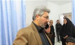 عیادت فرماندار خوسف از عزاداران مسموم + تصاویر